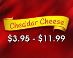 (CH1) Cheddar Cheese-  Our Cheddar Cheese Popcorn is handcrafted in kettles with a creamy cheddar cheese.