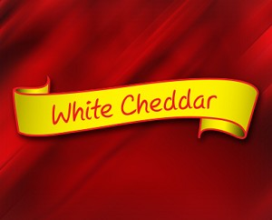 (CH4) White Cheddar- A popular and tasty white cheddar cheese popcorn.